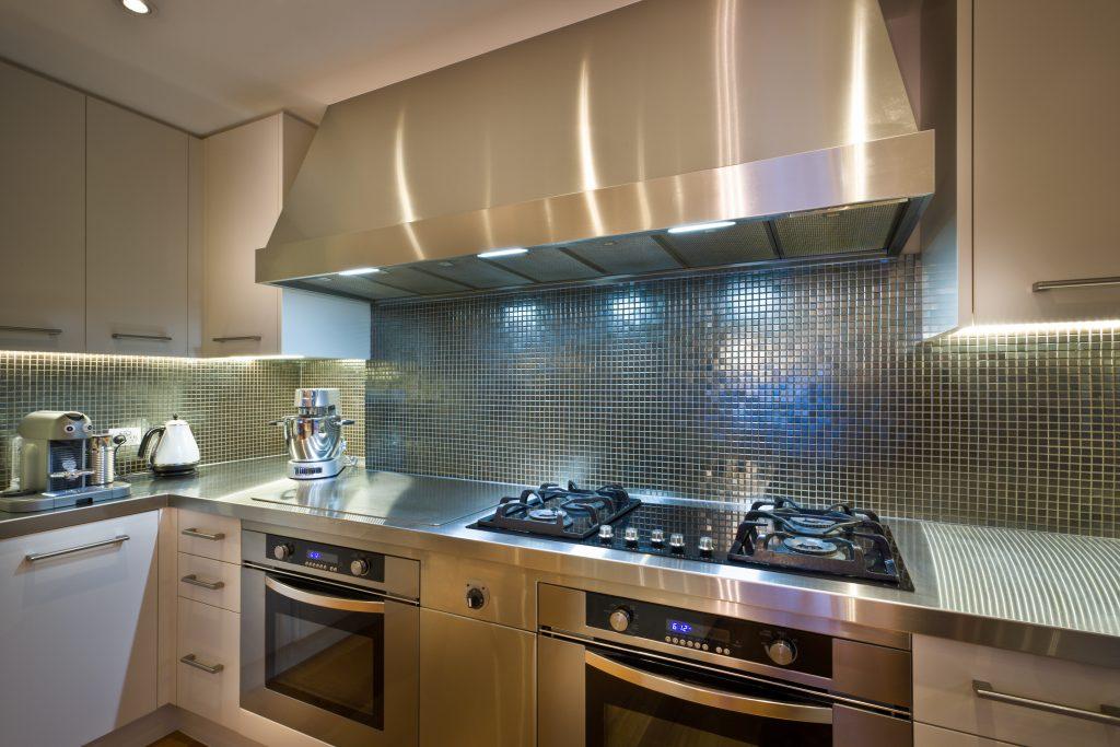 Full new kitchen plumbing installation