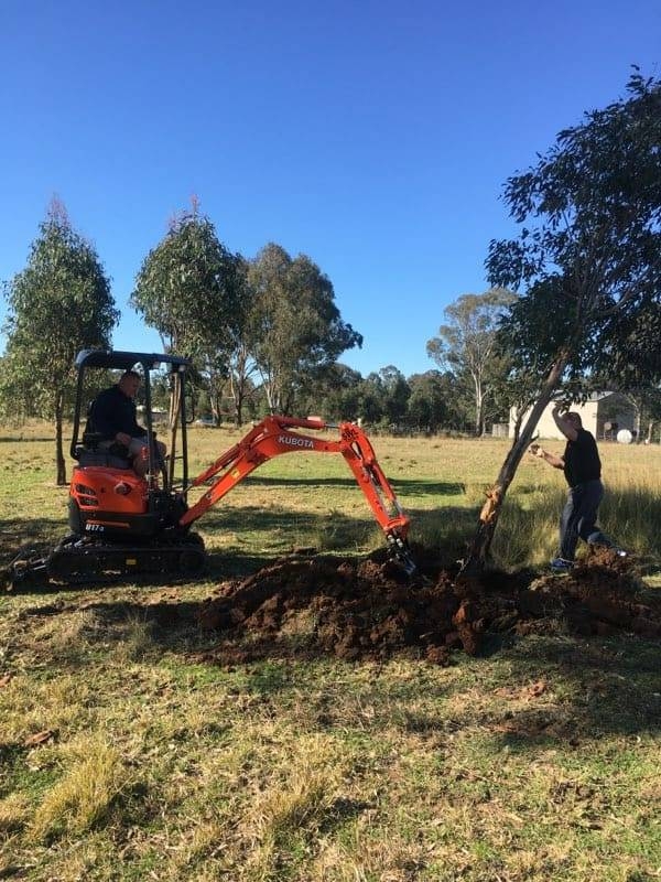 Trenching Penrith